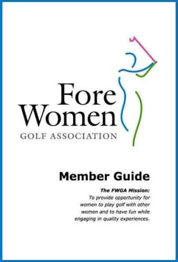 FWGA Member Guide