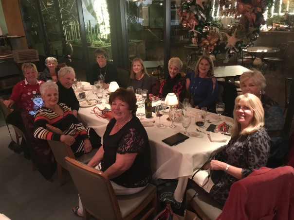 FWGA Board of Directors Year End Dinner at Scotts Seafood